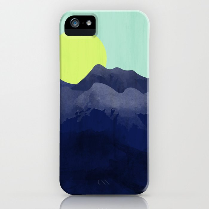Sunset Mountain iPhone Case