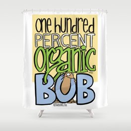 100% Organic Bob Shower Curtain