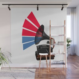 Colour Of Sound Wall Mural