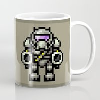 trooper Mugs featuring Trooper by HOVERFLYdesign