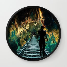 A Journey To A Star Wall Clock