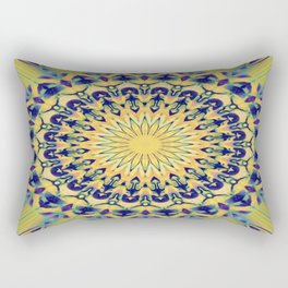 The Soft Mandela Rectangular Pillow