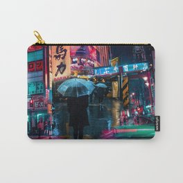 Japan street night Carry-All Pouch