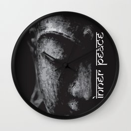 Inner Peace - Buddha Wall Clock