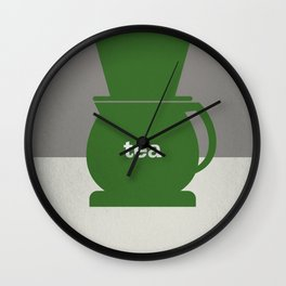 Tea/Coffee Wall Clock