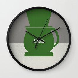 Tea/Coffee Wall Clock