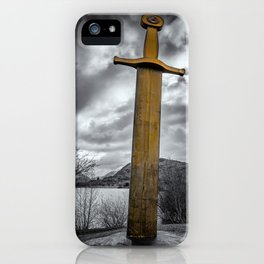 Llanberis Sword Snowdonia iPhone Case