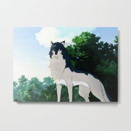 Wolf Children Metal Print