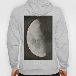 Black and White Moon Hoody