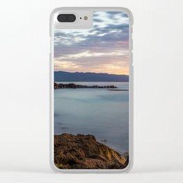 Three Tables Beach, Haleiwa, USA Clear iPhone Case