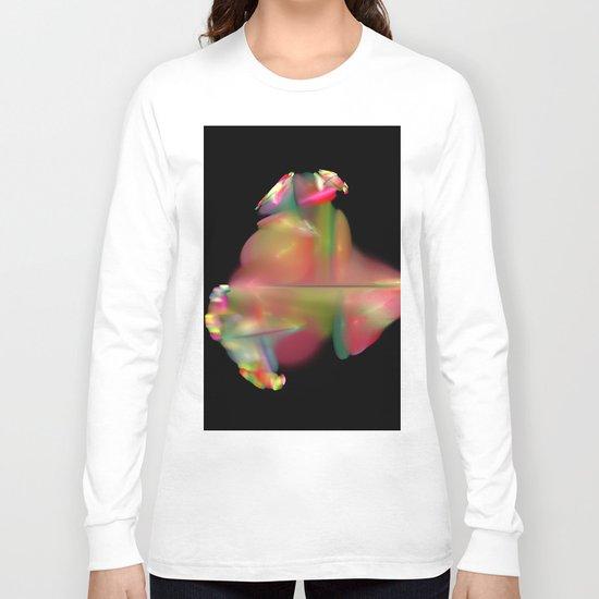 Spaceflower (A7 B0189) Long Sleeve T-shirt