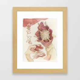 The Red Bell Pepper Framed Art Print