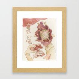 The Red Bell Pepper Framed Art Print