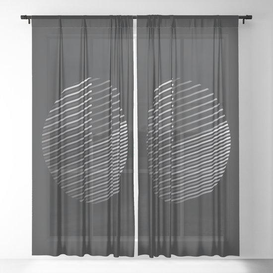 Striped Disc by clarkstreetpress
