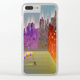 Landing in The Main Square Clear iPhone Case