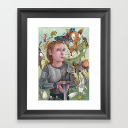 Protecting Your Imagination Framed Art Print