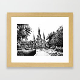 St. Louis Cathedral, New Orleans Framed Art Print