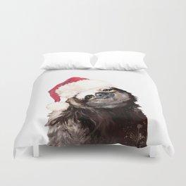 Christmas Sloth Duvet Cover