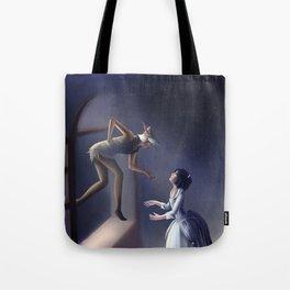 Peter Pan & Wendy Tote Bag