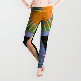 HILMA AF KLINT ALTARPIECE NO 1 RESTORED Leggings