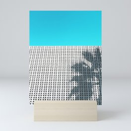 Parker Palm Springs with Palm Tree Shadow Mini Art Print