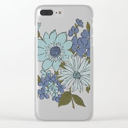 Dorchester Flower 1 Clear iPhone Case