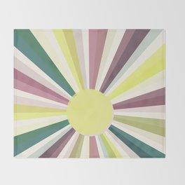 Summer in the City Throw Blanket