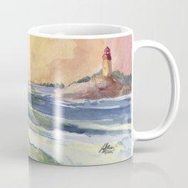 High Tide At Sunset Coffee Mug