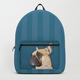 Super Frenchie: French Bulldog in Cape Backpack