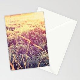 frosty sunrise Stationery Cards