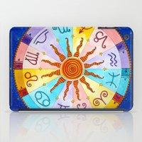 zodiac iPad Cases featuring Zodiac by Sandra Nascimento