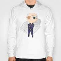 battlestar Hoodies featuring Colonel Tigh | Battlestar Galactica by The Minecrafteers