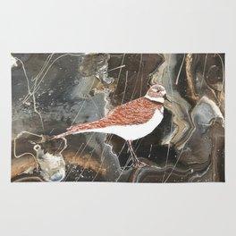 Killdeer bird Rug