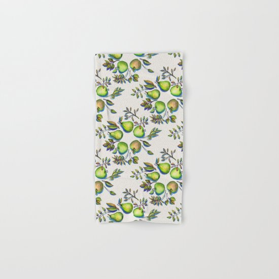 Summer's End - apples and pears Hand & Bath Towel