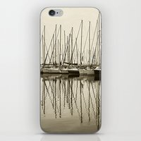 boats iPhone & iPod Skins featuring Boats by stephmel