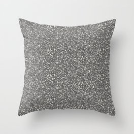 Gray Army Camouflage Throw Pillow