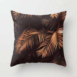 Cinnamon Stick Palms Throw Pillow