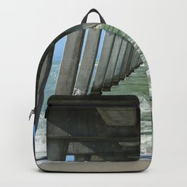 Under The Fishing Pier Backpack