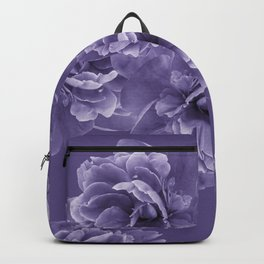 Ultra Violet Peony Flower Bouquet #1 #floral #decor #art #society6 Backpack