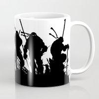 tmnt Mugs featuring TMNT by sokteulu