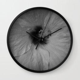 Hawaiian Dreams in Black and White  Wall Clock