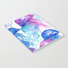 Jellyfish Pattern Notebook