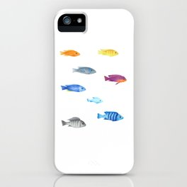 cichlids fish malawi lake iPhone Case