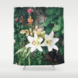 Beautiful Garden colours Shower Curtain