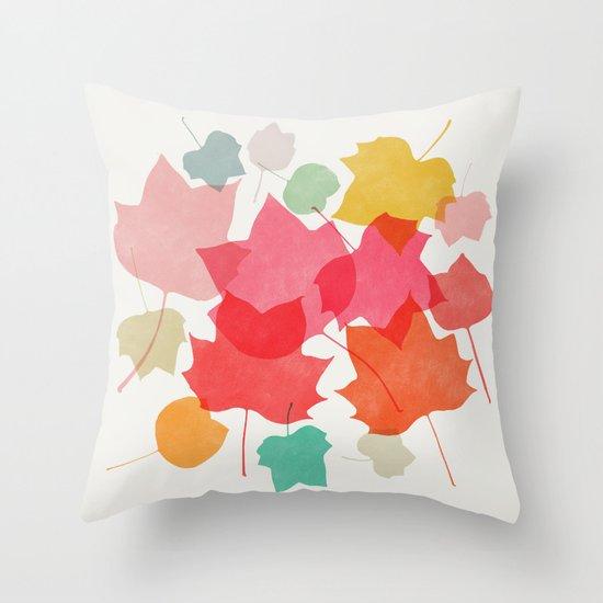 tulipifera 1 Throw Pillow