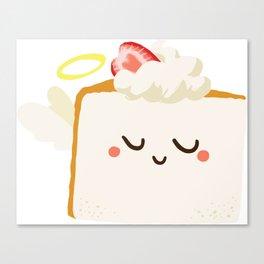 Baby Cakes - Angel Food Cake Canvas Print