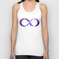 galaxy Tank Tops featuring Galaxy. by Matt Borchert