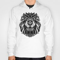 zodiac Hoodies featuring Signs of the Zodiac - Leo by Andreas Preis