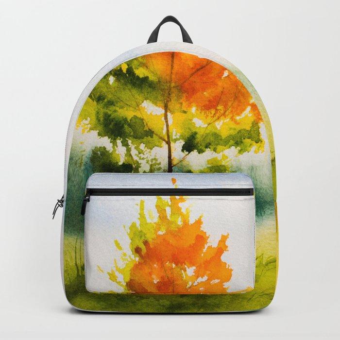 Autumn scenery #22 Backpack