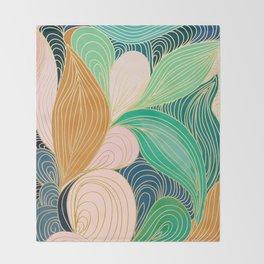 Swirly Interest Throw Blanket